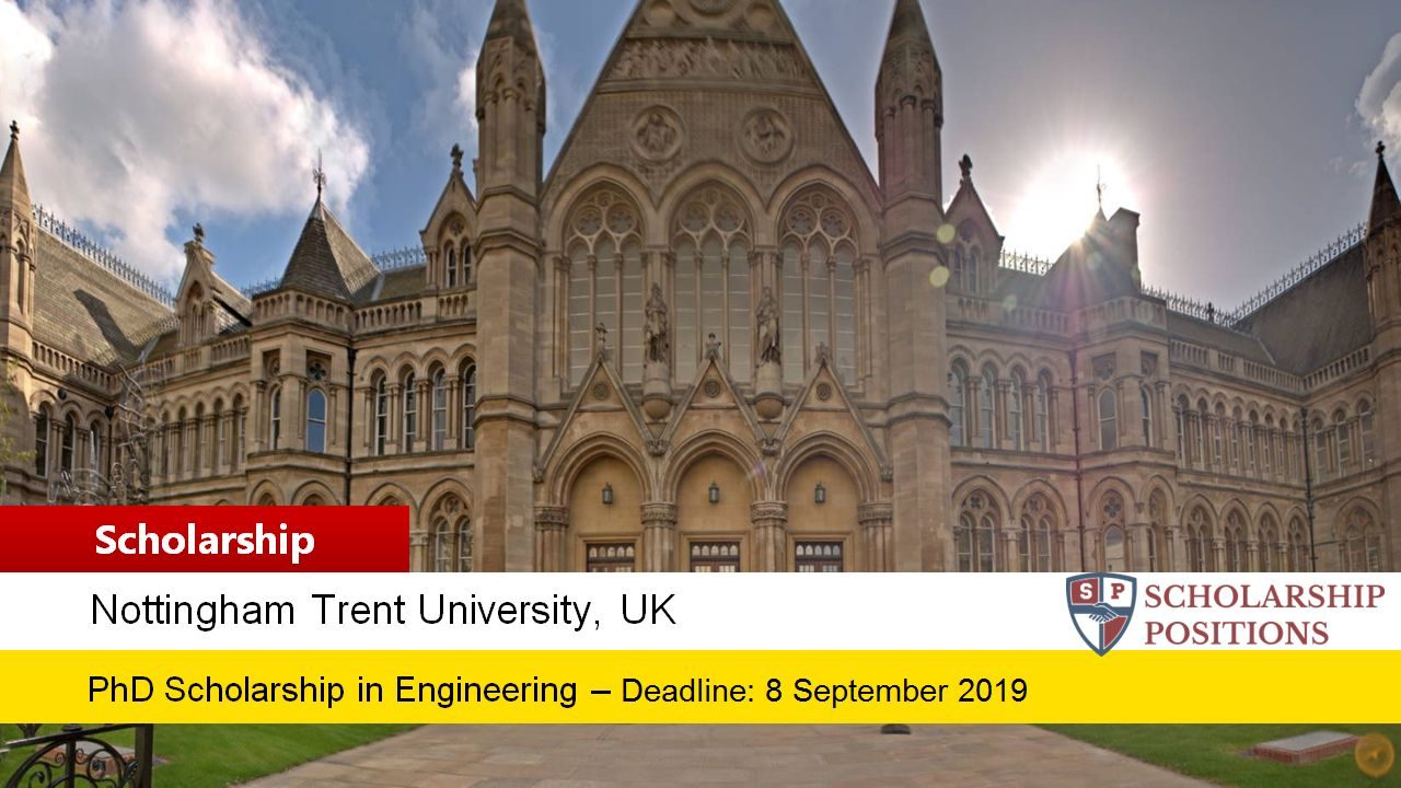 Fully-Funded PhD Position in Engineering for UK and EU